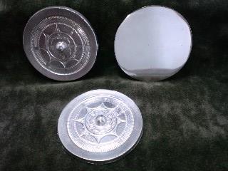 鏡鋳造体験の作品