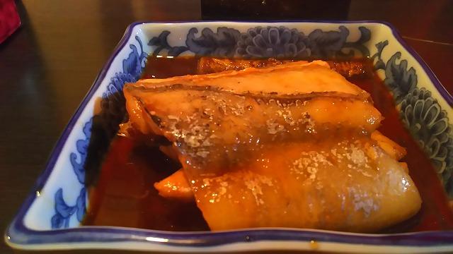 七うら 太刀魚煮つけ