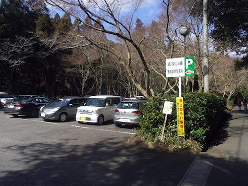 2 途中の駐車場IMGP3101