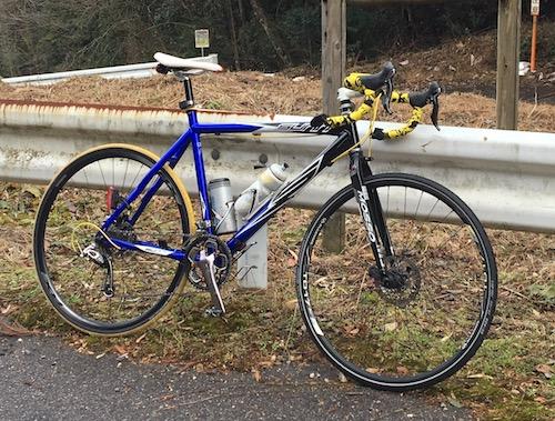1 ブルベ用のバイクだったがIMG_4251