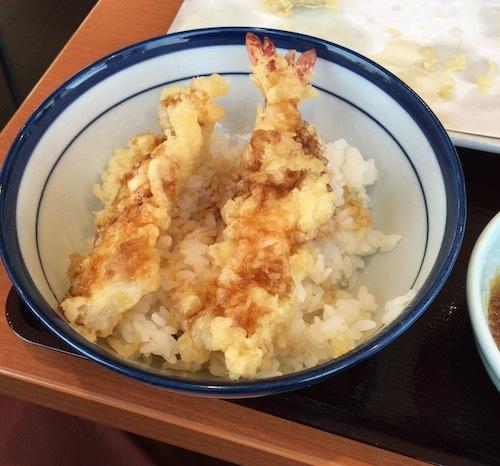 5 お代わりの天丼IMG_4409