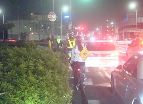 32 八熊通りの渋滞DSC01258