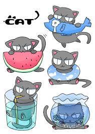 いろんな猫