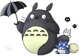トトロと傘