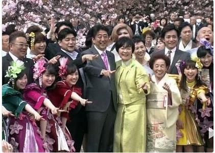 桜の会安倍昭恵