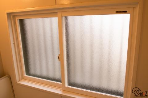 お風呂の樹脂窓 内窓