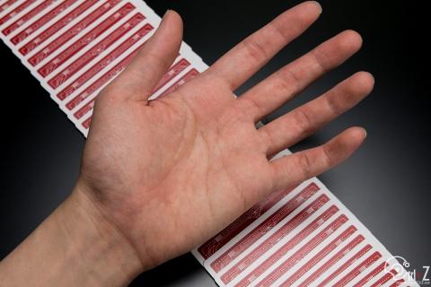 マジシャンの手