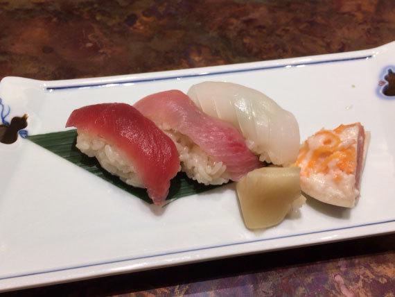 締めは寿司