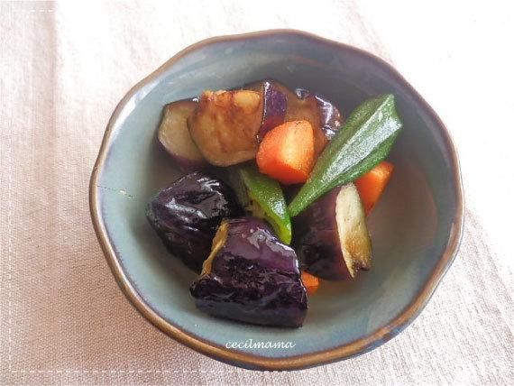 野菜の揚げ煮_1