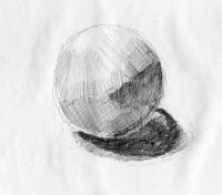 球デッサン1