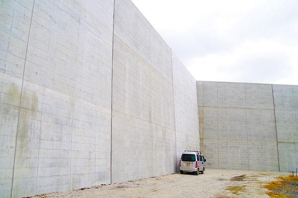 宮古市田老の新防潮堤