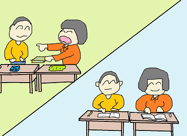 方言小話:弁当交換するべ2