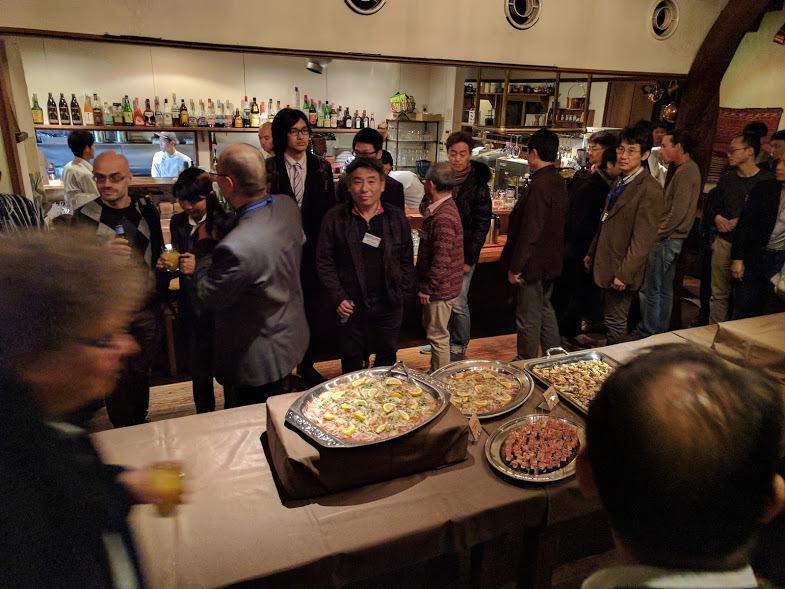 Precambrian World 2017 ディナーパーティー1