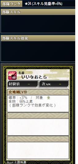 天 直虎Lv10 ランク24