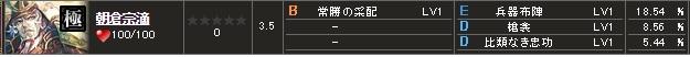 極 朝倉S