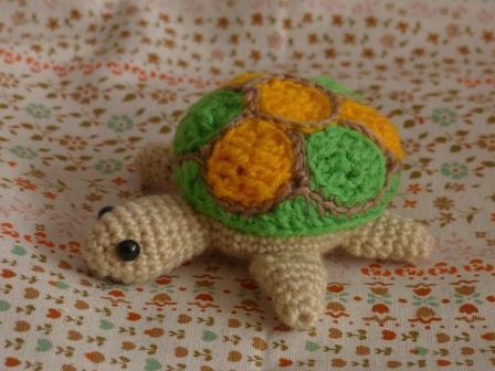編みぐるみ カメ 1