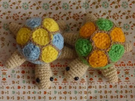 編みぐるみ カメ 6