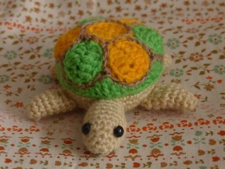 編みぐるみ カメ 3