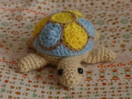 編みぐるみ カメ 4