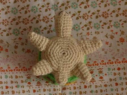 編みぐるみ カメ 5