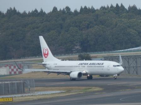 成田空港 飛行機 4