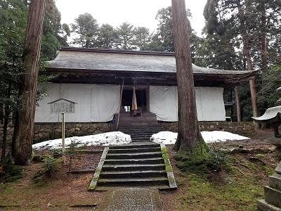 2017年2月26日越前市矢谷山城跡 (3)