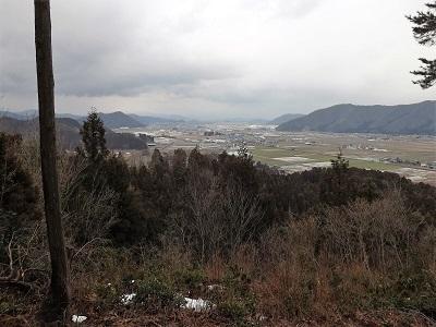 2017年2月26日越前市矢谷山城跡 (11)