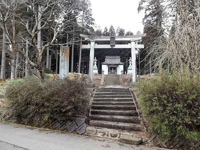 越前町葛野神社の見学の踏査(ブログ用) (1)