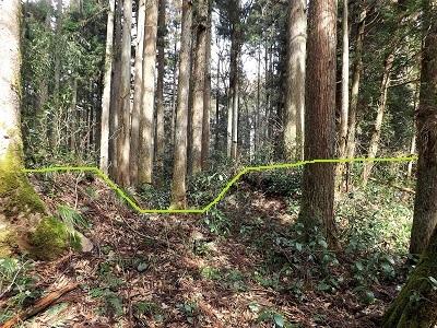 越前町大窪鎌太屋敷跡の踏査(ブログ用) (5)