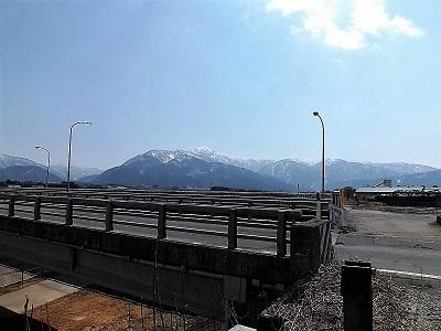 2017年3月28日(火)荒島岳と周辺の景観、佐開城の踏査 (1)