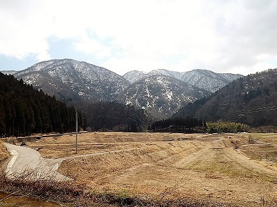 2017年3月28日(火)荒島岳と周辺の景観、佐開城の踏査 (3)