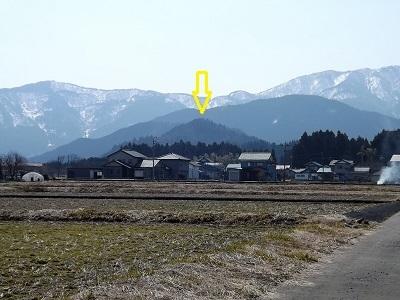 2017年3月大野市茶臼山城跡の踏査(ブログ用) (1)