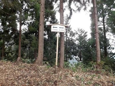 2017年4月1日大野市牛ヶ原城跡の踏査 (5)