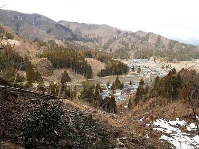 2017年4月1日大野市牛ヶ原城跡の踏査 (24)