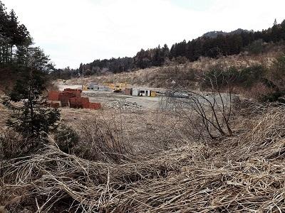 2017年4月3日大野市佐開城跡の踏査 (2)