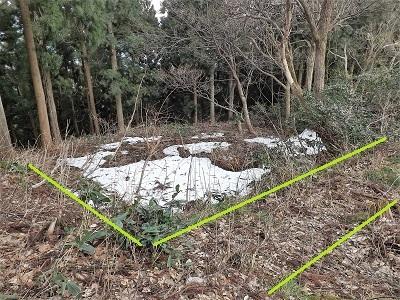 2017年4月3日大野市佐開城跡の踏査 (19)
