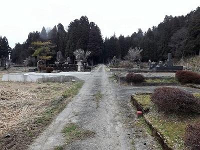 2017年4月3日大野市佐開城跡の踏査 (26)