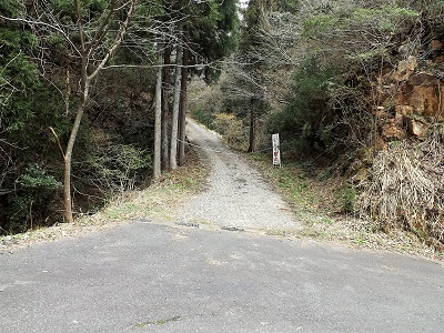 2017年4月13日織田城跡の踏査(ブログ用) (3)