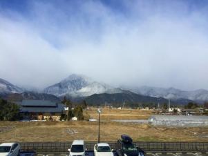 JCCE 安曇野工場よりの景色をご紹介いたします。