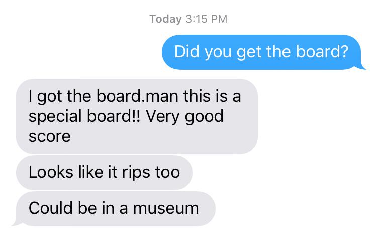 kookoftheday he got the board for dollars