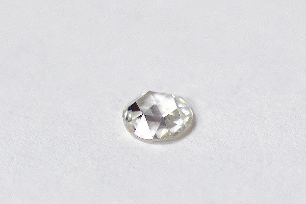 ローズカットダイアモンド彫金リング指輪1
