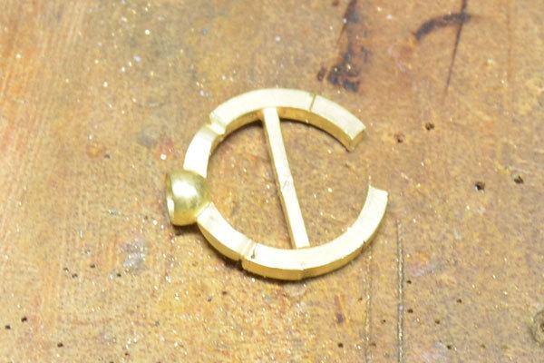 ローズカットダイアモンド彫金リング指輪2
