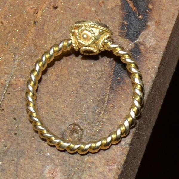 レッドスピネルリング加工指輪手作りハンドメイドオーダーメイドジュエリー2