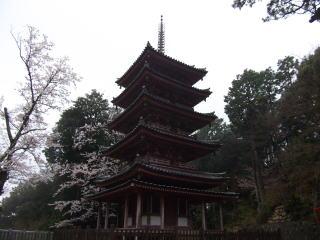 海住山寺五重塔