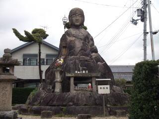 泉橋寺地蔵石仏