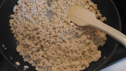 豆腐と鶏挽肉2