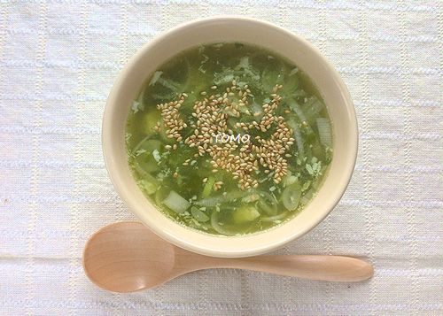 芽かぶのスープ