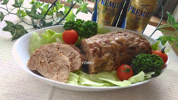 豚切り落とし肉 de ローストポーク