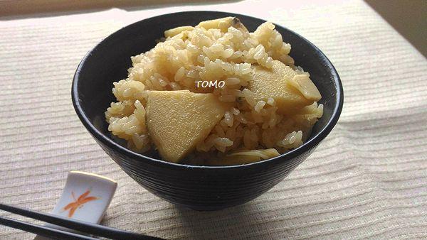 筍の中華風炊き込みご飯