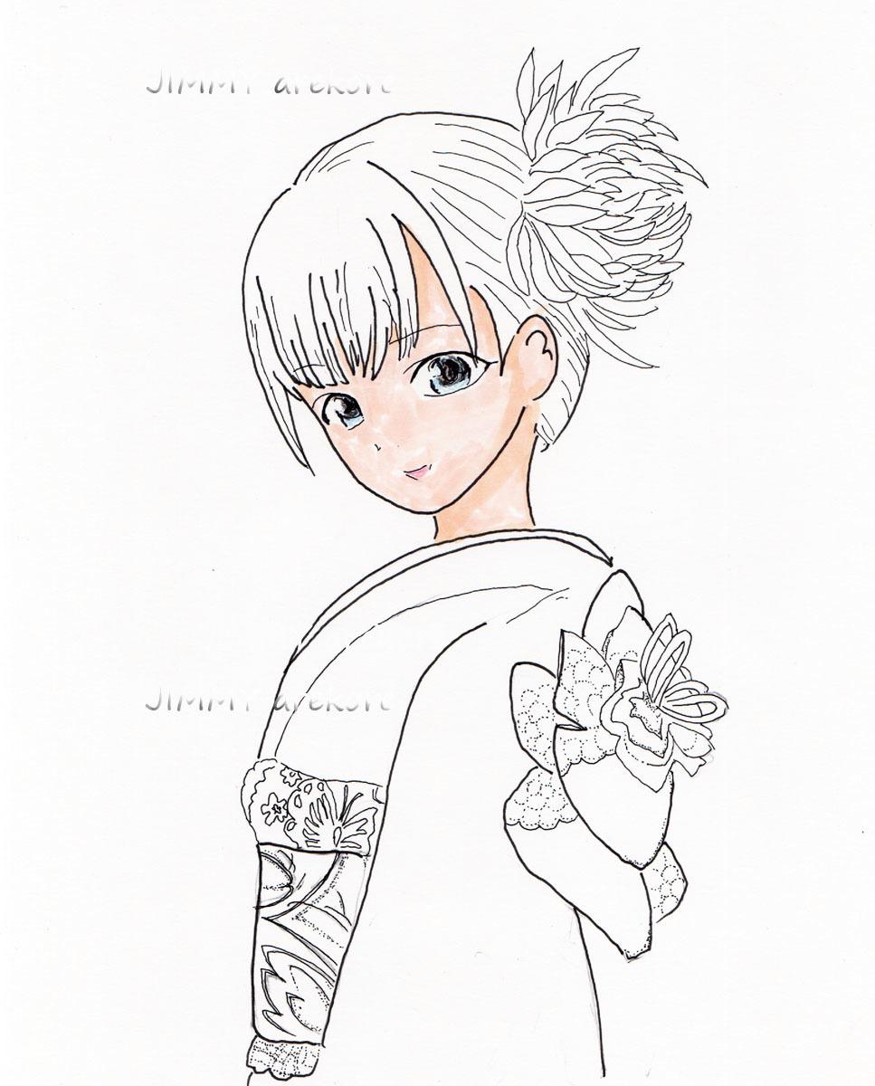 02_和服少女しおりcolor